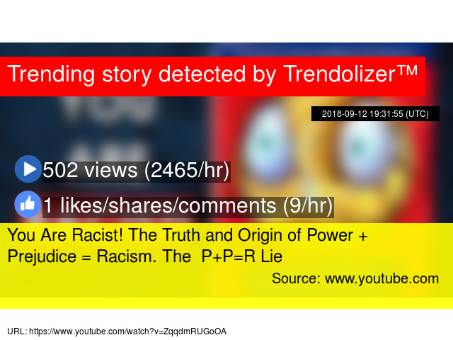 an introduction to the issue of racism the combination of racial prejudice and power Some are racial in nature, and have racist outcomes, but not all forms of prejudice do, and this is why it's important to understand the difference between prejudice and racism jack explained that as a blond person of german descent, he had experienced pain in his life due to this form of prejudice aimed at blond people.