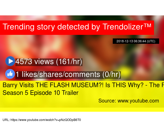 Barry Visits THE FLASH MUSEUM?! Is THIS Why? - The Flash Season 5