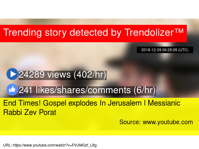 End Times! Gospel explodes In Jerusalem l Messianic Rabbi