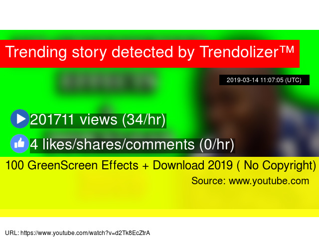 100 GreenScreen Effects + Download 2019 ( No Copyright)