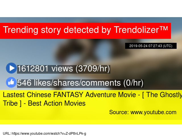 Lastest Chinese FANTASY Adventure Movie - [ The Ghostly