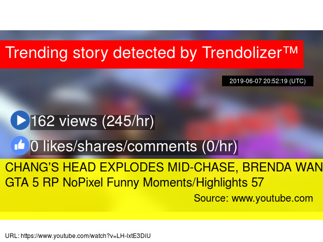 CHANG'S HEAD EXPLODES MID-CHASE, BRENDA WANTS TO ERP   GTA 5