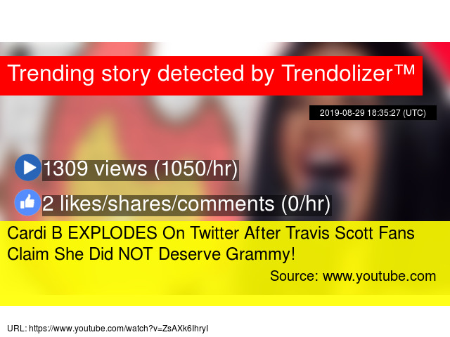 Cardi B EXPLODES On Twitter After Travis Scott Fans Claim