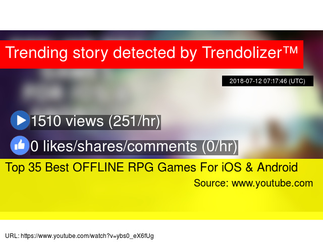 Top 35 Best OFFLINE RPG Games For iOS & Android